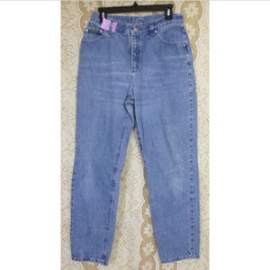 Lee Rivited  Womens Blue Denim Jeans Size 12 M